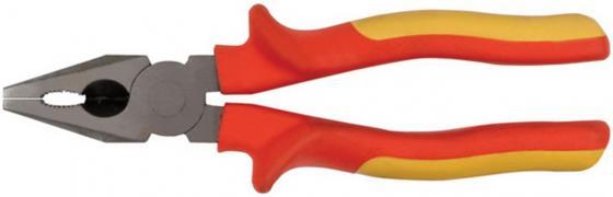 Плоскогубцы FIT 50774 электро-2 1000 в высокоуглеродистая сталь прорезиненные ручки комбинирова плоскогубцы fit 52713