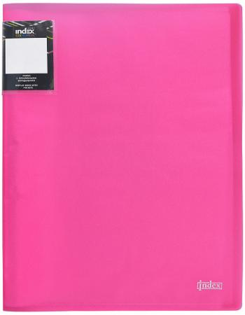 Папка с 30 файлами COLOURPLAY Light, ф.A4, 0,55мм, прозрачная, ассорти цена и фото