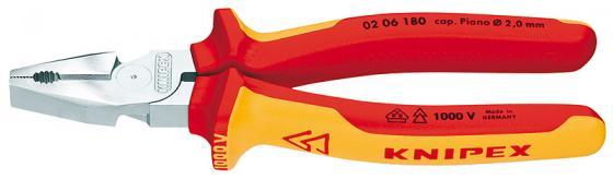 Плоскогубцы KNIPEX KN-0206180 силовые 1000 V прецизионные плоскогубцы knipex kn 3412130