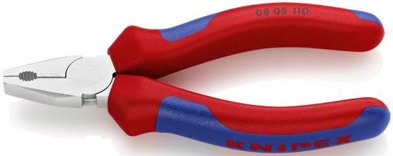 Плоскогубцы KNIPEX KN-0805110 силовые ванадиевая электросталь контактная гильза knipex kn 979945