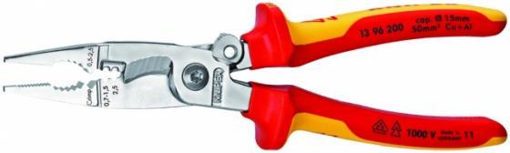 Плоскогубцы KNIPEX KN-1396200 универсальные хром контактная гильза knipex kn 979945