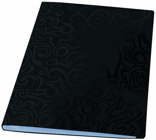 Папка с файлами TAI CHI, 20 файлов, черный, материал PP, плотность 700 мкр, ф.А4 свитшот print bar tai chi
