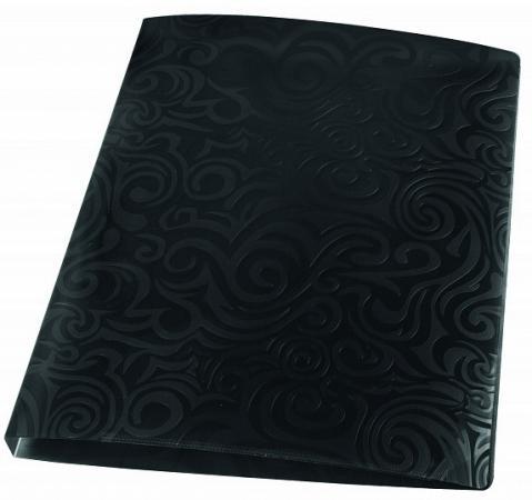 Фото - Папка с файлами TAI CHI, 40 файлов, черный, материал PP, плотность 700 мкр, ф.А4 папка с файлами inформат а4 20 файлов черный пластик 500 мкм карман