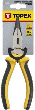 Плоскогубцы TOPEX 32D101 удлиненные прямые 160мм