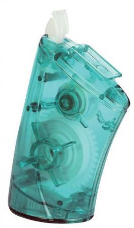 Корректирующий роллер Allcover TEC 2, с точилкой, прозрачный зеленый корпус, 8 м x 5 мм топ корректирующий burlesco z90 цвет зеленый