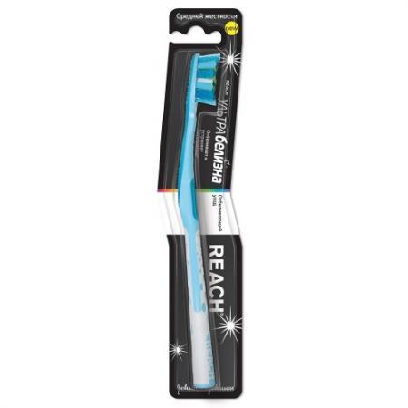 REACH Ultra White зубная щетка средняя аквафреш щетка зубная white and shine средняя