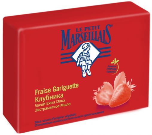 Мыло твердое Le Petit Marseillais Экстрамягкое - Клубника 90 гр 94138 le petit marseillais