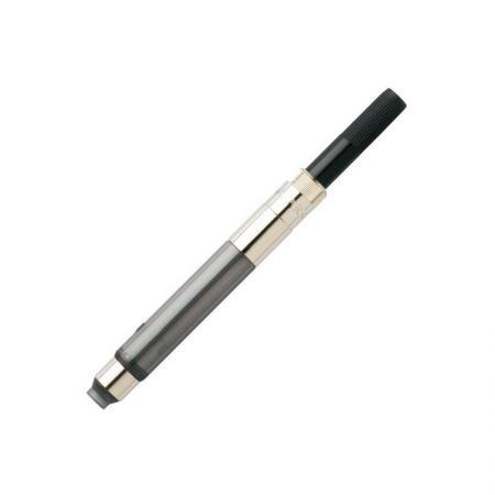 Конвертор DE LUXE для перьевых ручек, поворотного действия конвертор для перьевых ручек металлический hr поршневой