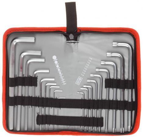 Набор ключей ЗУБР 27463-H18 мастер cr-v hex 1.5-10мм длин.9 шт torx т10-т50 длин.9шт