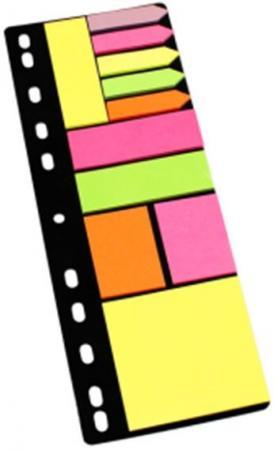 Набор липких закладок на перфорации: 5 закладок, 4 вида липких блоков по 25 листов фолиант комплект блоков для записей граффити 8 5 х 8 5 см 4 блока по 200 листов бзт 85но 17