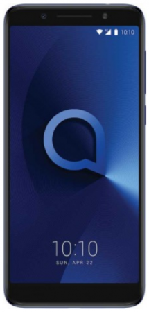 Смартфон Alcatel 3X 5058I синий металлик 5.7 32 Гб LTE Wi-Fi GPS 3G 5058I-2BALRU1 смартфон alcatel 3 5052d синий 5 5 16 гб lte wi fi gps 3g 5052d 2balru7