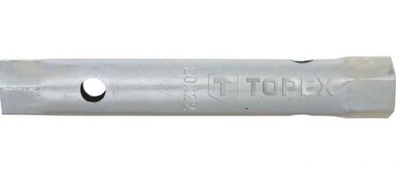 Ключ TOPEX 35D939 торцевой двухсторонний трубчатый 24x26мм уровень topex 29c506