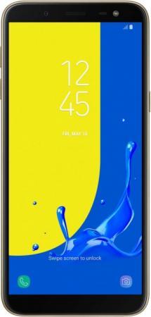 Смартфон Samsung Galaxy J6 2018 золотистый 5.6 32 Гб LTE Wi-Fi GPS 3G босоножки kylie kylie ky002awtve27