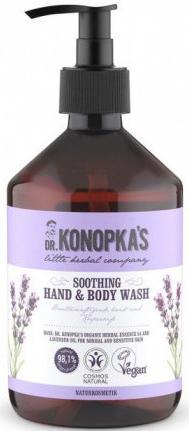 Мыло жидкое Dr.Konopka's Успокаивающее 500 мл жидкое мыло живичное 300 мл