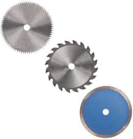 Набор дисков для мини-пилы EINHELL 4502128 6шт для моделей BT-CS 860/TC-CS 860 набор дисков д мульти пилы skil 5330la 89х10мм 3шт