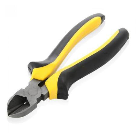 Бокорезы FIT 50606 стайл черно-желтая ручка молибденовое покрытие 160мм утконосы fit 50656 круглогубцы стайл черно желтая ручка молибденовое покрытие 165мм