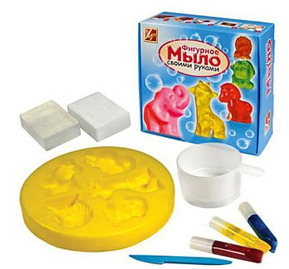 Набор для изготовления мыла АФРИКА набор для изготовления мыла фантазёр дружу с привидениями от 4 лет