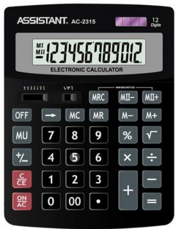 Калькулятор 12-разр., двойное питание, итоговая сумма, черный пластик, разм.201х153х35 мм калькулятор 12 разр дв питание дв память черный пластик большой дисплей разм 206х155х35 мм a