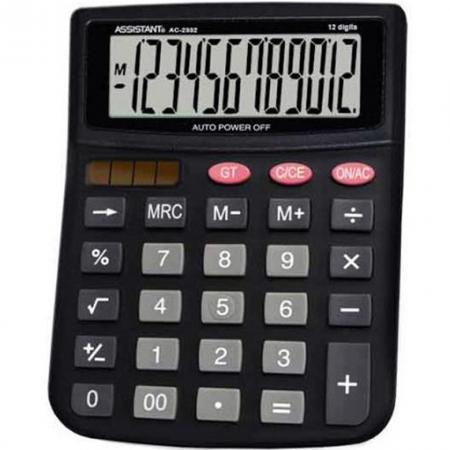 Калькулятор 12-разр., двойное питание, черный пластик, большой дисплей, разм.143х100х25 мм калькулятор 12 разр дв питание дв память черный пластик большой дисплей разм 206х155х35 мм a