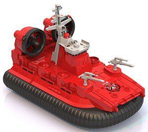 Катер Нордпласт Катер-амфибия на воздушной подушке Пожарный красный 294 все цены
