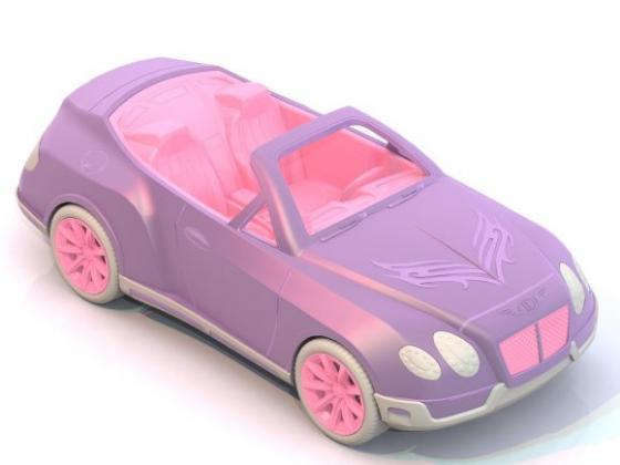 Автомобиль Нордпласт Кабриолет Нимфа цвет в ассортименте 297 вездеход нордпласт страж в ассортименте
