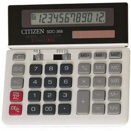 Калькулятор настольный , 12 разр., дв. питание, две памяти, серый, разм.152х152х27 мм калькулятор настольный canon 16 разрядов 2 е питание 140х192х32мм