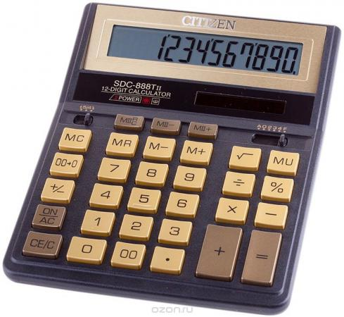 Калькулятор настол, 12 разр., дв. питание, коррекция, 2 памяти,золотой, разм.203*158*31мм, карт.уп. калькулятор 12 разр дв питание дв память черный пластик большой дисплей разм 206х155х35 мм a