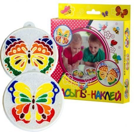 Набор для тв-ва Насыпь На Клей Бабочки М2 набор для тв ва раскраска по номерам золушка