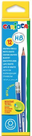 Набор карандашей CARIOCA 42797 12 шт набор карандашей carioca bicolor 43031 48 цветов 24 шт