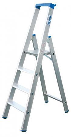 Лестница-стремянка Krause KS-124517 4 ступени стремянка krause corda ks 085078 шарнирная универсальная трансформер