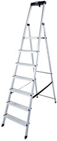 Лестница-стремянка Krause SAFETY KS-126351 7 ступеней стремянка krause corda ks 085078 шарнирная универсальная трансформер