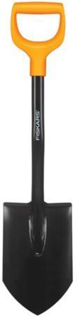 Лопата FISKARS 1026667 штыковая укороченная solid цена