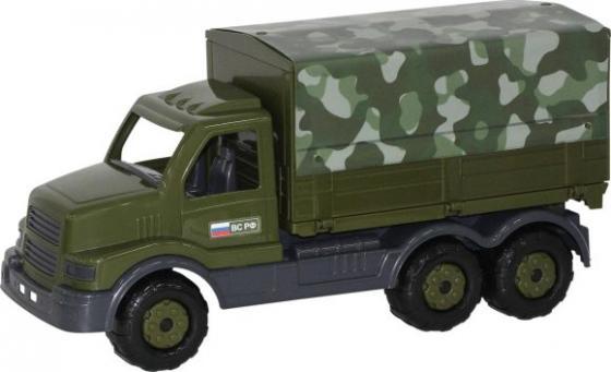 Автомобиль Полесье Сталкер тентовый военный хаки 48646