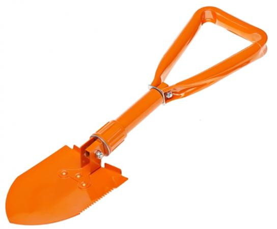 Лопата саперная складная снеговая AIRLINE AB-S-02 46 см Морозоустойчивая до - 50 С