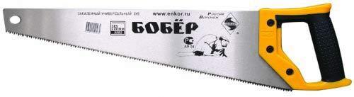 цены на Ножовка ЭНКОР 9850 350мм Бобер закаленный зуб  в интернет-магазинах