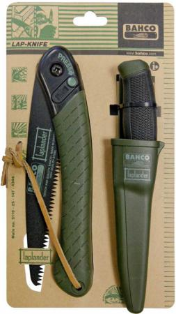 Ножовка BAHCO LAP-KNIFE + НОЖ садовая складная