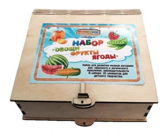 Пазл Woodland вощи, фрукты, ягоды 111401 пазл овощи фрукты ягоды