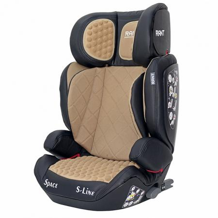 Автокресло Rant B-Tiger Space Isofix (coffee) автокресло rant premium isofix red