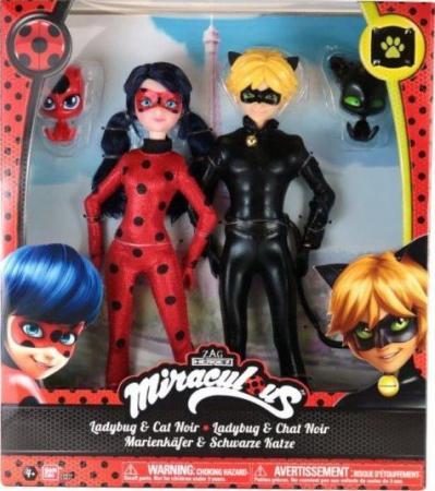 Кукла 26см Леди Баг и Супер Кот bandai стань леди баг