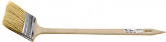 Кисть радиаторная FIT 01225 натур. св. щетина бежевая пластик. ручка 2 (50 мм) кисть радиаторная stayer 0110 50 z01
