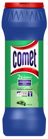 Средство чистящее COMET СОСНА, универсальное, порошок, 475 г kitpag02363pag82027 value kit procter amp gamble professional floor and all purpose cleaner pag02363 and mr clean magic eraser foam pad pag82027