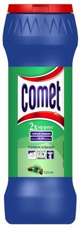 Средство чистящее COMET СОСНА, универсальное, порошок, 475 г средство чистящее comet океан 475г порошок