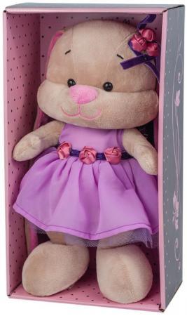 Мягкая игрушка зайка в фиолетовом платье Jack Lin JL-021-25-КСО 25 см недорго, оригинальная цена