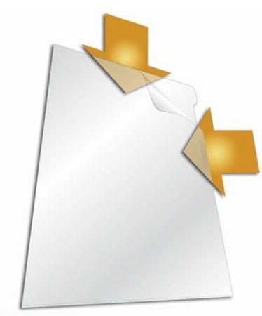 Папка-уголок DURABLE, толщина пластика 0.15 мм, выемка для пальца, прозрачная, цена за 1 шт папка уголок a4 прозрачная 3 шт 47280003