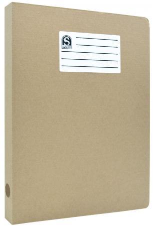 цена Офис-папка скоросшиватель, микрогофрокартон, 325 г/кв.м, 233х30х315 мм, бурый онлайн в 2017 году