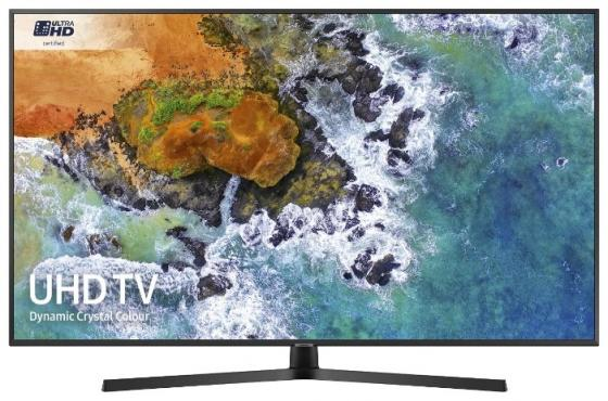 Телевизор 65 Samsung UE65NU7400UXRU черный 3840x2160 100 Гц Wi-Fi Smart TV RJ-45 телевизор led 65 bbk 65lex 6039 uts2c tv черный 3840x2160 wi fi smart tv vga rj 45
