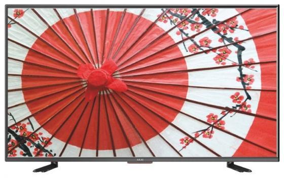 Телевизор 39 Akai LEA-39Z72T черный 1366x768 50 Гц VGA Разьем для наушников телевизор 32 philips 32phs4132 60 черный 1366x768 60 гц usb scart разьем для наушников