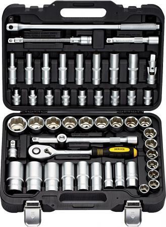 Набор инструментов BERGER BG050-12 универсальный 50 предметов 1/2 набор инструментов berger bg097 121438 универсальный 97пр 1 2 1 4 3 8