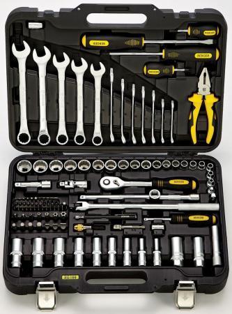 Набор инструментов BERGER BG100-3814 универсальный 100 предметов