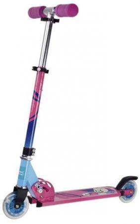 Самокат двухколёсный X-Match Cool Cat 100 мм розовый 641098 стоимость